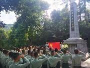 驻香港部队组织官兵瞻仰乌蛟腾烈士纪念园