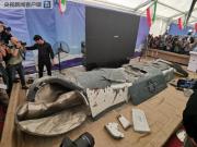 伊朗首次展出历年击落和捕获的美国无人机