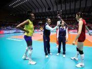 艰难击败巴西拿下6连胜 中国女排将直面美国队