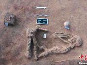 埃及考古学家发现希克索斯王朝坟墓