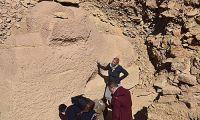 埃及出土狮身羊面: 雕像受损 决定不再进行修复
