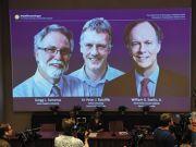 三科学家获诺贝尔生理学或医学奖 平分约650万奖金