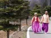 这对187岁的夫妻 让400万韩国人当场泪崩