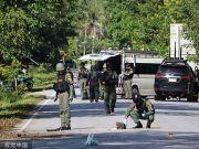 泰国两处检查站遇袭,至少15人死亡、4人受伤