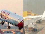 机窗裂粘后继续飞 印度航空太猛!