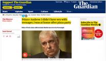 """安德鲁王子:没和爱泼斯坦""""招募""""的女性有性关系"""