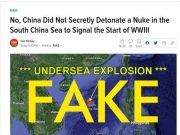 """""""中国南海海底发生核爆""""?!"""
