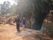 云南两年前一杀人抛尸案告破,警方挖掘六天找到失踪女子白骨