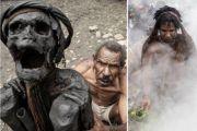印尼前食人族部落保存着250年前村长遗体,每日烘烤保持新鲜