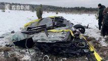 俄博主租直升机将140万奔驰从300米高空抛下
