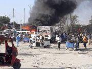 索马里袭击事件,造成至少50人身亡