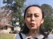 华人女子发视频提醒:不要再无缘无故给外国人送口罩!