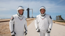 SpaceX送宇航员上空间站 马斯克让载人航天重返美国