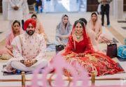 """印度""""口罩新娘""""爆红 只露眼都美成仙"""