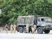 白宫周围数个街区被军队警察封锁 首都将继续宵禁