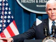 美国连续三天刷新确诊增长纪录 副总统彭斯:令人鼓舞
