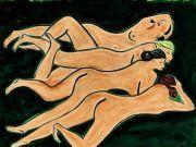 《绿色背景四裸女》2.58亿成交 绿色背景四裸女是什么?