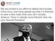 这大概是特朗普发过的最不要脸的一则网帖了(图)