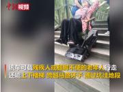 70岁老人发明自动爬楼智能车,能通过不深于30厘米的坑洼地段