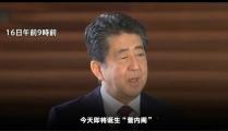 日本现任内阁全体辞职安倍告别 菅义伟16日就任日本首相