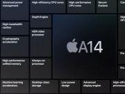 A14仿生芯片亮相!使用5nm技术 CPU速度可提高40%