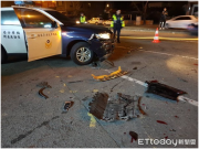 高雄午夜枪响!男子驾车拒接受检查冲撞警车,3警察连开22枪