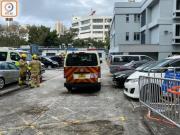 香港上水警署又遭暴徒扔汽油弹 两个月内第四次