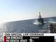 美俄军舰差点相撞 美军舰鸣笛要求俄军舰改变航线