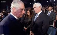 查尔斯王子耶路撒冷参加活动 拒与美副总统握手