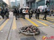 """乱港""""搞手头目""""刘颖匡被抓:散播卖港、仇警和煽暴言论"""