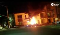 特斯拉超速、撞毁、起火!一男子丧生