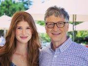 """比尔·盖茨大女儿宣布订婚,""""亿万女婿""""获准岳父认可,钻戒抢眼"""