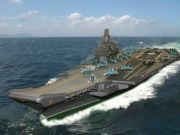 苏联巨舰要还魂?外媒称俄下代航母将基于乌里扬诺夫斯克号发展
