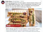 花旗集团年薪千万高管 在食堂偷27元三明治被免职