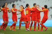 中国女足6-1泰国 赢得开门红 看台上打出武汉加油