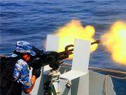 中国军舰海外遭围攻!44艘敌船扑向我舰,舰炮果断瞄准目标