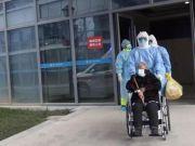 浙江96岁新冠肺炎患者治愈出院 为该省最高龄患者