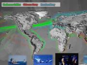 美军绘制中俄海军活动区域图:中国实力爆炸性增长