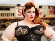 全球最胖女模特体重达300斤 胸围腰围令人眼晕