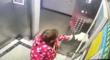 又作死!女子故意向电梯按键吐口水被抓现场