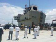 印度航母再延期海试 船体开始生锈老化俄印互相甩锅