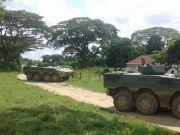 委内瑞拉海军陆战队演练 出动多款中国造两栖战车