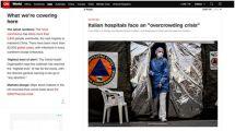 作为欧洲地区疫情最严重国家,意大利医院正面临危机:人满为患