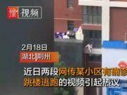 网传湖北一肺炎确诊女子从家中跳楼逃跑,官方回应来了