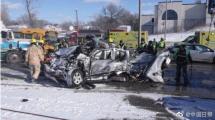 加拿大魁北克发生大型车祸 至少69人受伤