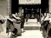 存在268年的清朝被推翻时,那些大牢里的10万犯人怎么办呢?