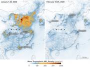 来自太空的发现:中国空气中的二氧化氮含量显著下降