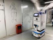 医疗机器人在雷神山医院上岗