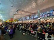 令人担忧的一幕:美国机场挤满欧洲返美乘客