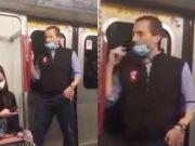 外籍男子摘下口罩往车厢扶手上抹口水,港铁:已报警!